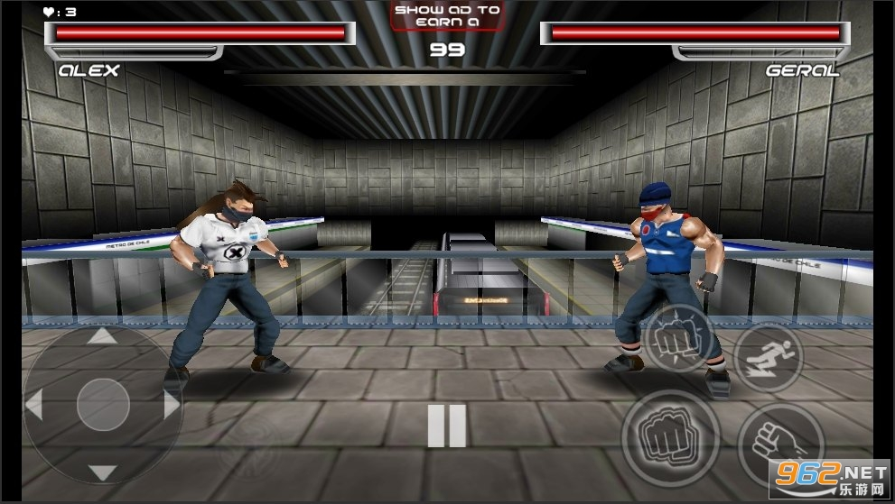 血腥之拳为正义而战中文版v0.3 格斗游戏截图1