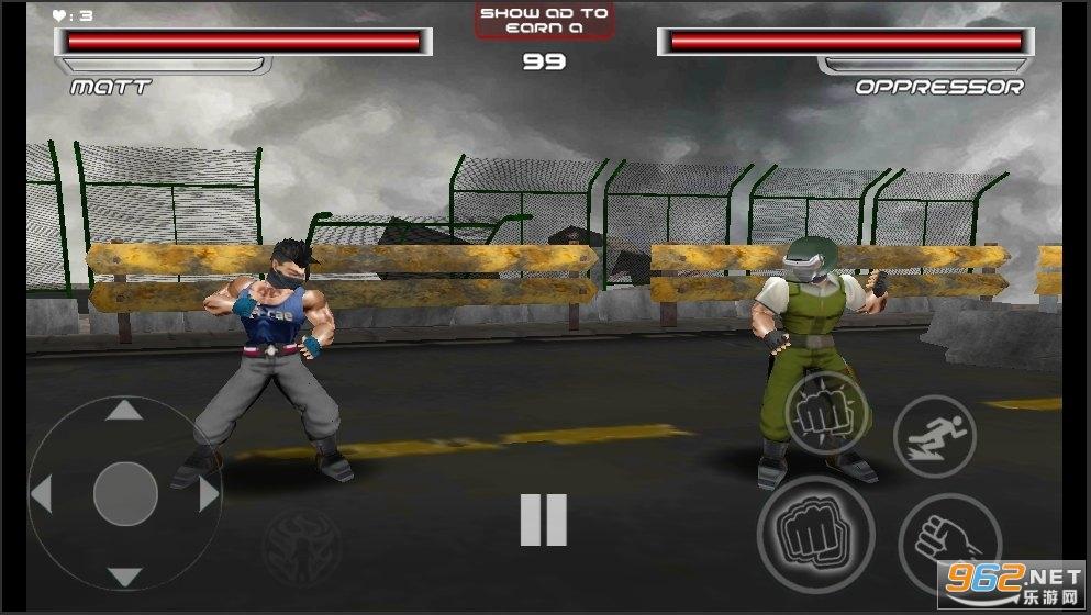 血腥之拳为正义而战中文版v0.3 格斗游戏截图3
