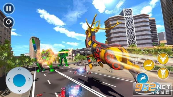 沙雕鹿机器人安卓中文版v1.0 机器人游戏截图1