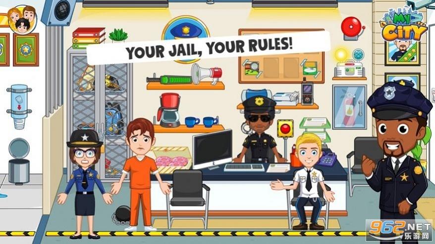 我的城市监狱游戏v1.0 免费版截图0