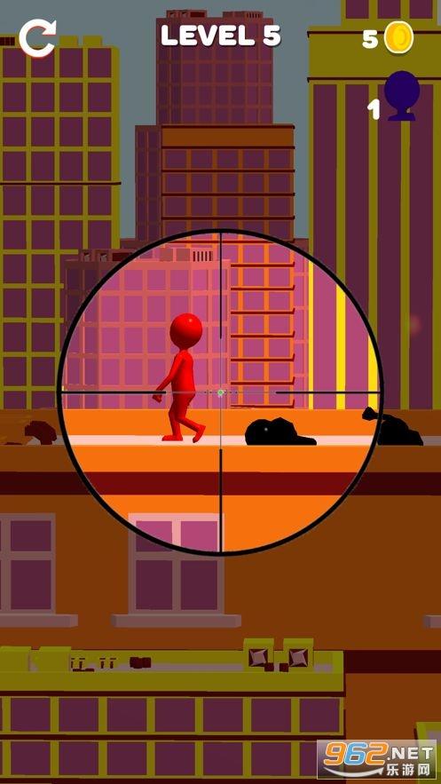 超级狙击手子弹射击小游戏苹果版截图0