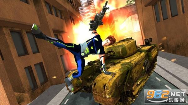 钢铁侠射击战争安卓最新版v1.0 正式版截图1