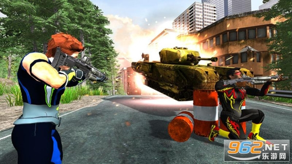 钢铁侠射击战争安卓最新版v1.0 正式版截图4
