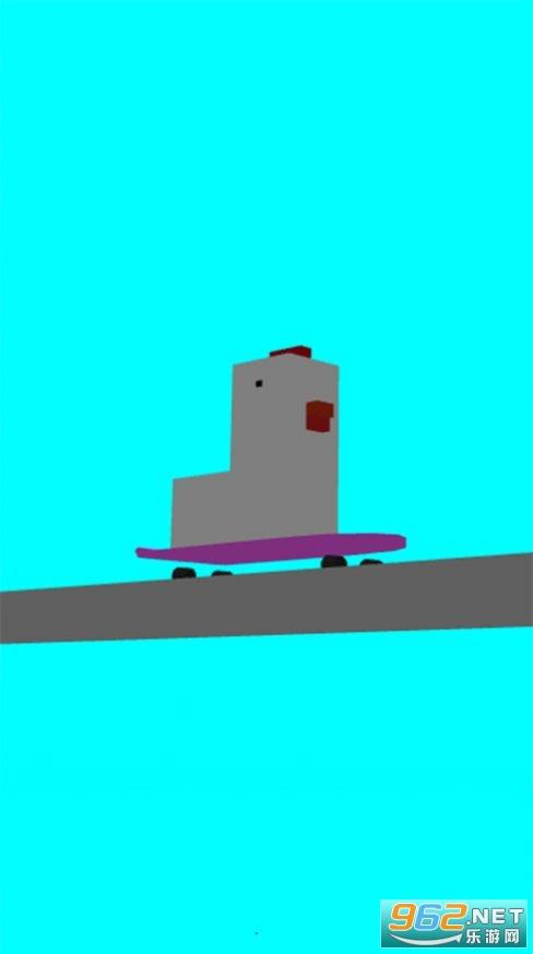 蠢鸡滑板小游戏官方版截图2