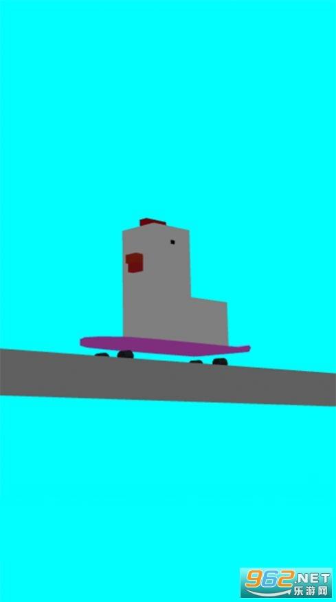 蠢鸡滑板小游戏官方版截图1