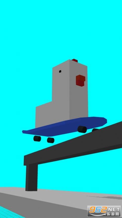蠢鸡滑板小游戏官方版截图0