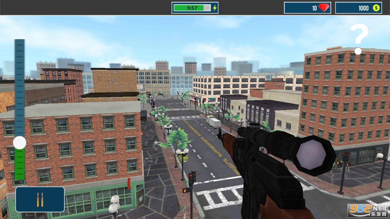 城市狙击之谜手游v2.1.0 破解版截图2