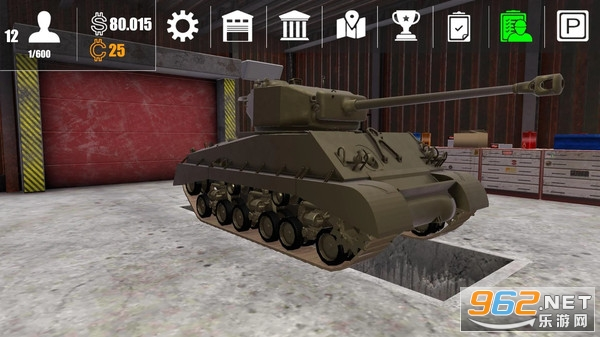 坦克维修模拟器中文完整版v0.0.1 安卓版截图1