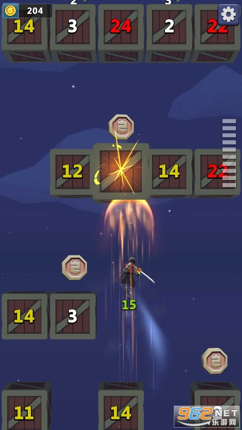 忍者降魔传游戏手机版v1.04 苹果版截图1