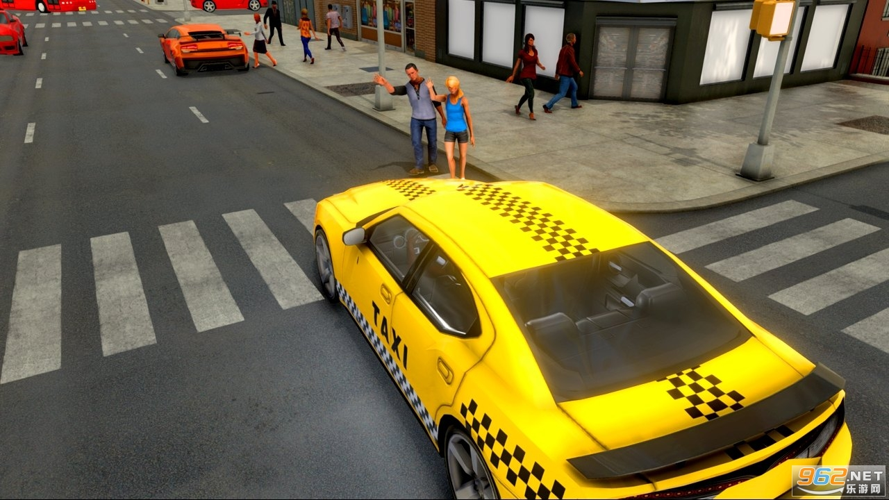 城市出租车司机游戏2020中文版v1.4 无限金币截图0