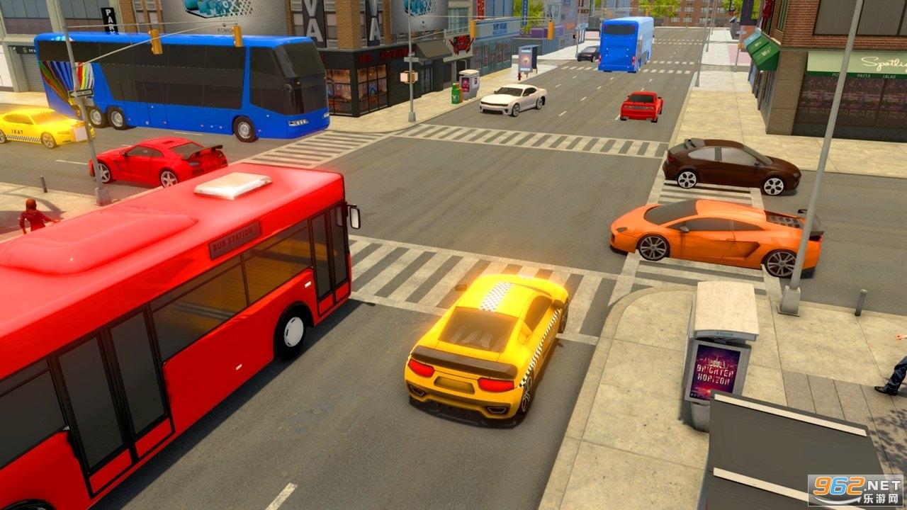 城市出租车司机游戏2020中文版v1.4 无限金币截图1