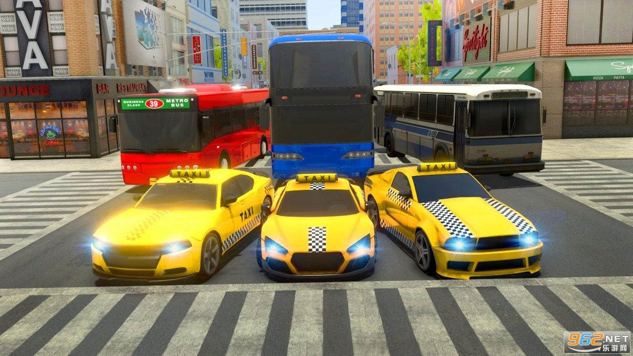 城市出租车司机游戏2020中文版v1.4 无限金币截图2