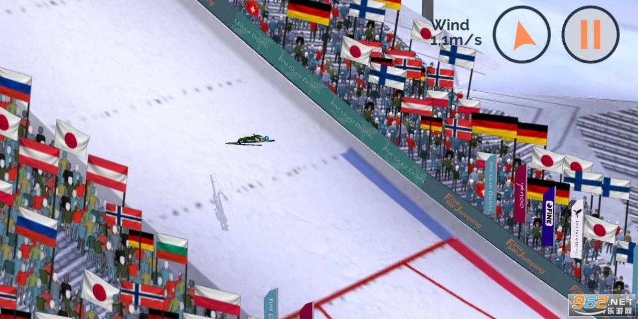 跳台滑雪游戏v0.4.0c 中文版截图0