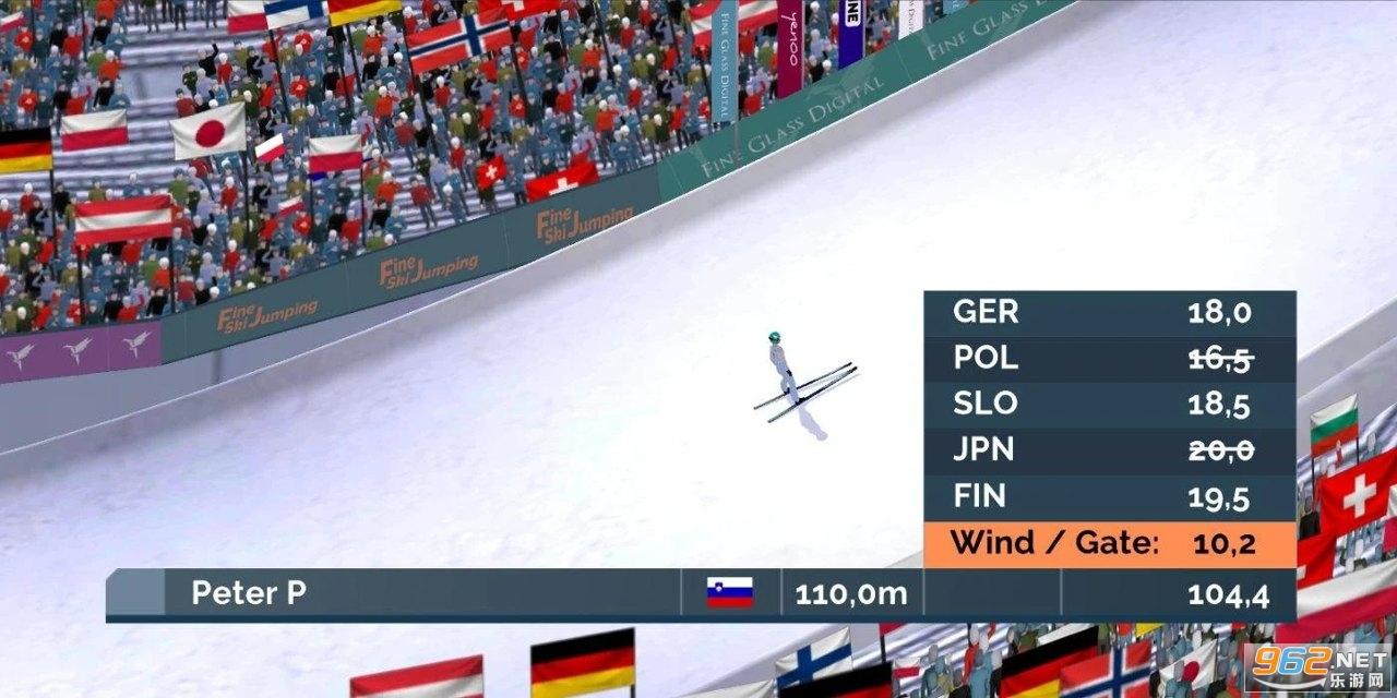 跳台滑雪游戏v0.4.0c 中文版截图2