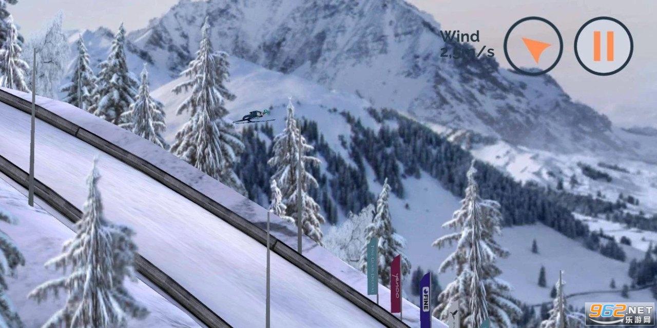 跳台滑雪游戏v0.4.0c 中文版截图4