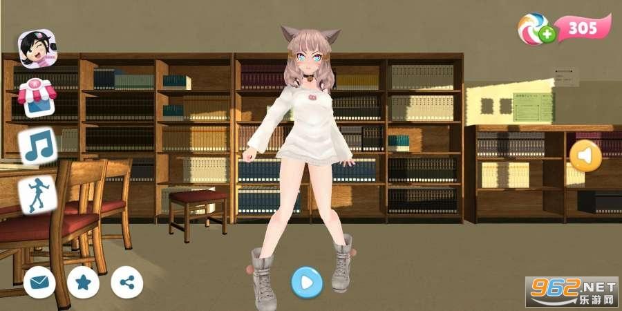 女学生舞蹈游戏v1.3 全舞蹈截图2