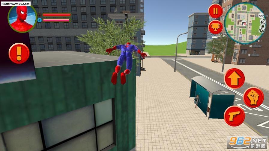 蜘蛛侠英雄拉斯维加斯犯罪模拟器破解版v1.0 去广告截图0