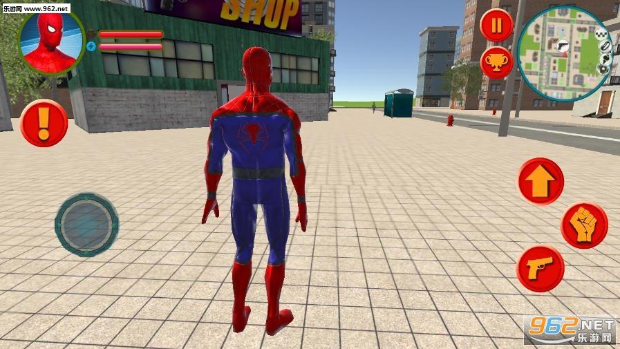 蜘蛛侠英雄拉斯维加斯犯罪模拟器破解版v1.0 去广告截图3