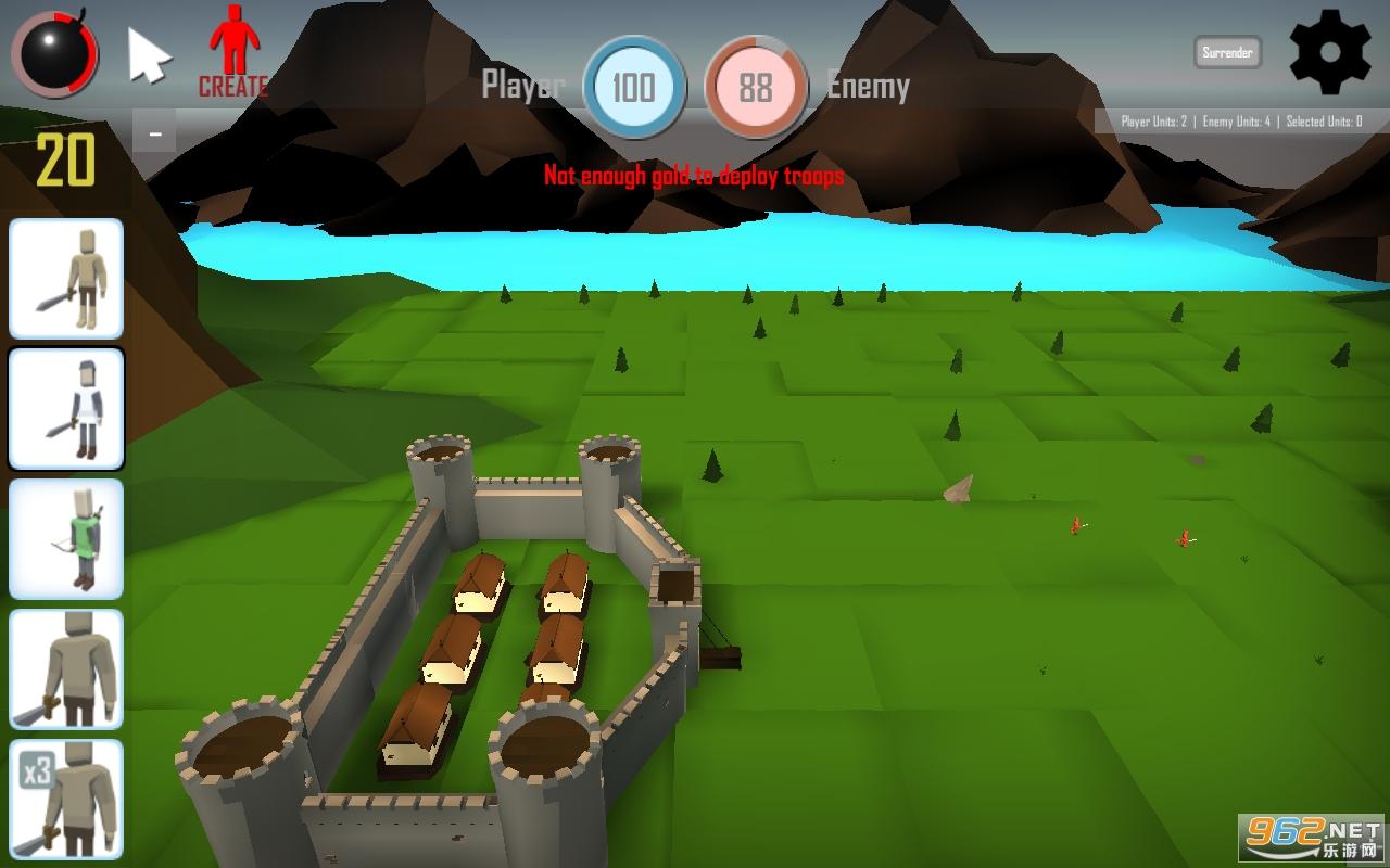 迷你战争模拟器游戏v1.0.1 最新版截图1