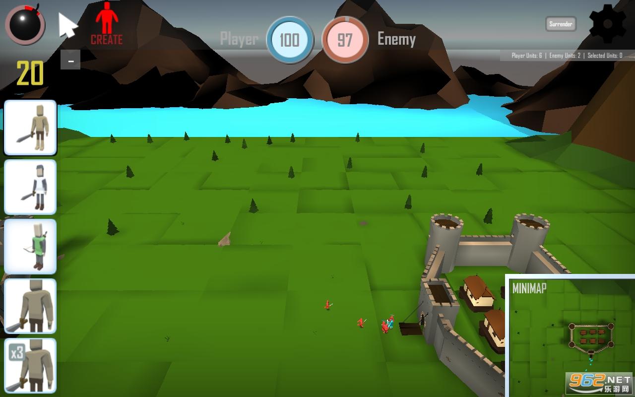 迷你战争模拟器游戏v1.0.1 最新版截图3