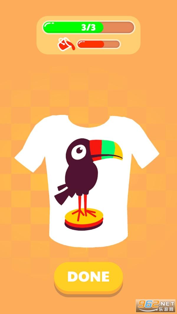 T恤印刷小游戏v1.0 安卓版截图1