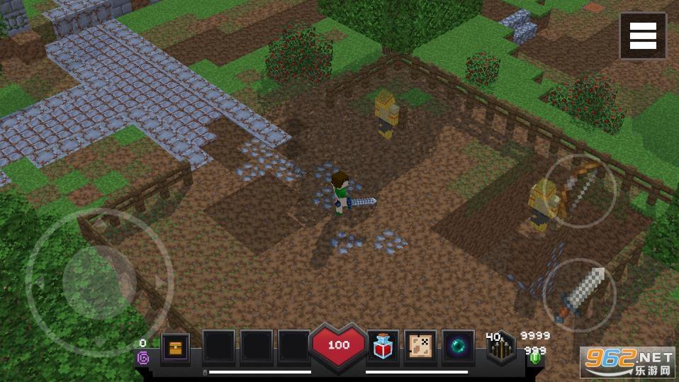 我的世界地下城破解版v2.0 无限钻石截图1