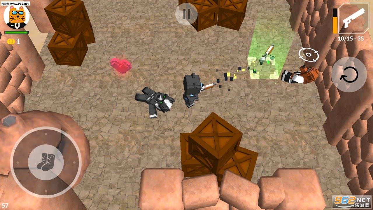 猫与狗射击无限金币版v1.0免费版截图2