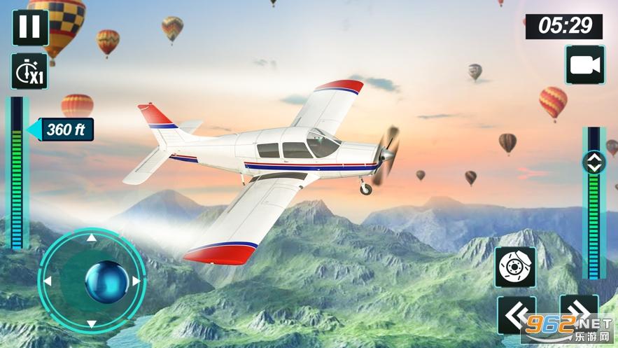 飞机飞行模拟器2020官方完整版v1.0 免费版截图0