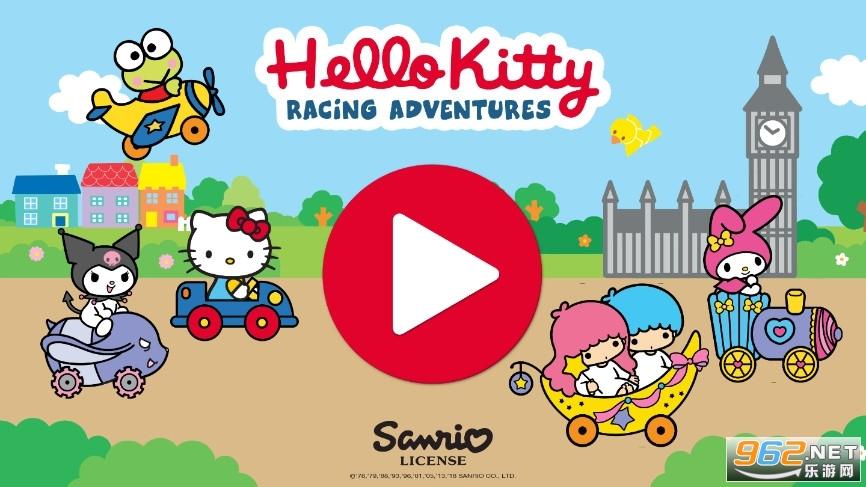 凯蒂猫赛车冒险安卓版v1.0.3 官方版截图0