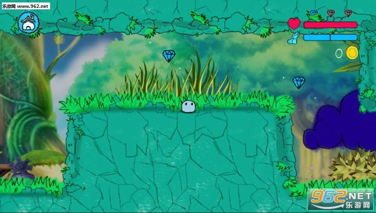 跳跳史莱姆破解版v1.2.1 (Jumping Slime)截图1