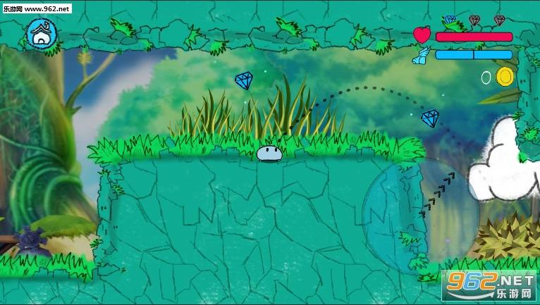 跳跳史莱姆破解版v1.2.1 (Jumping Slime)截图2