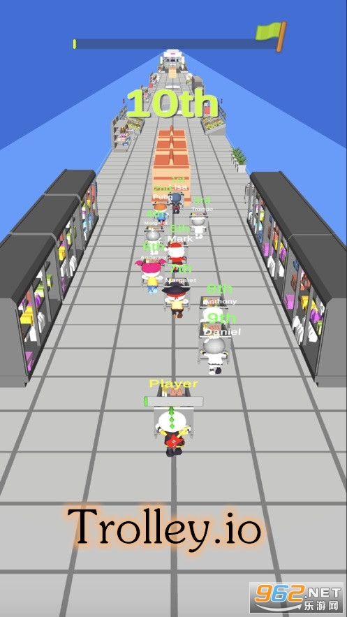 Trolley.io游戏