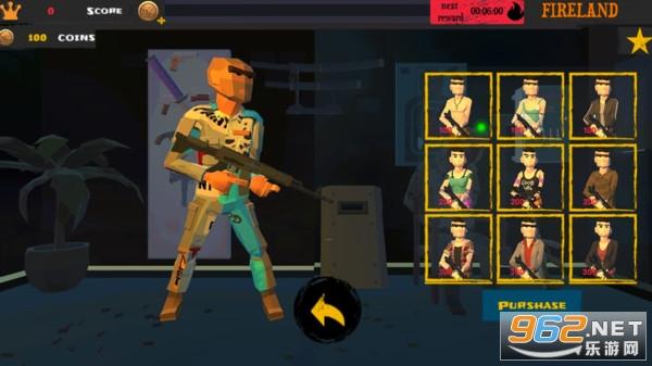 多边形射击之火搏击夜鹰安卓免费版v1 像素吃鸡截图1