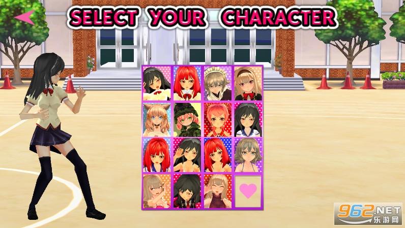 高中女生战斗模拟器游戏v7.0 去广告截图1
