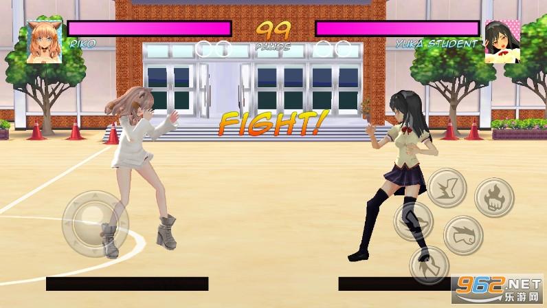 高中女生战斗模拟器游戏v7.0 去广告截图3