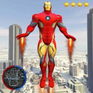 超级钢铁侠绳索英雄破解版