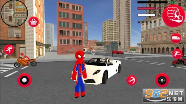 绿魔蜘蛛侠绳索英雄中文版v1.0 无限金币截图1