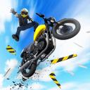摩托�特技�w�SBikeJump