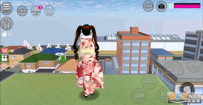 樱花校园模拟器王室新服版更新皇冠v1.035.17 2020最新版截图0