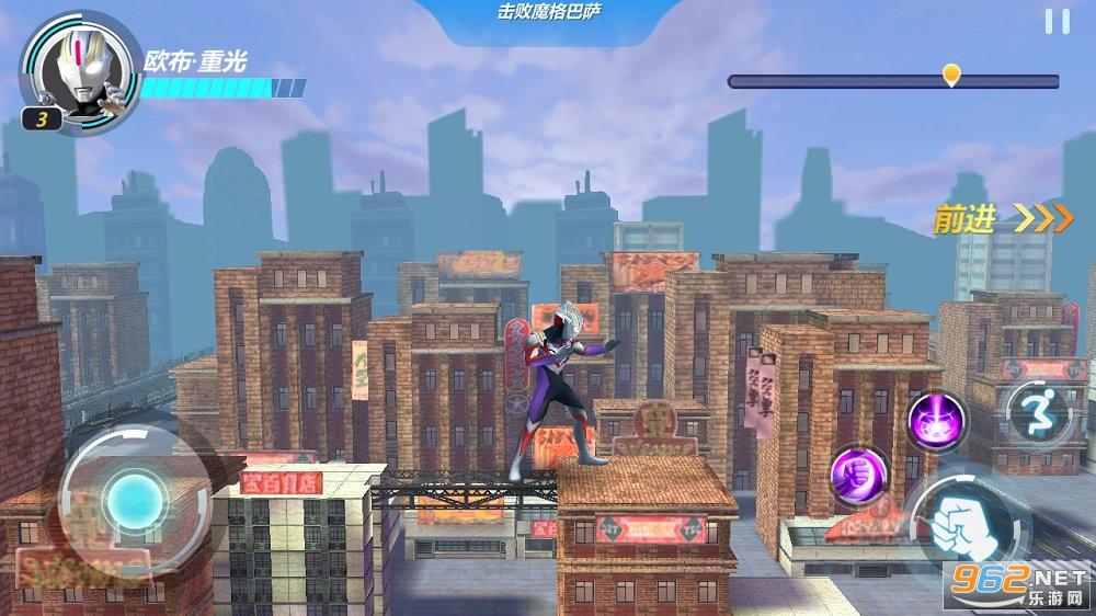奥特曼超银河格斗游戏v1.0 中文版截图1