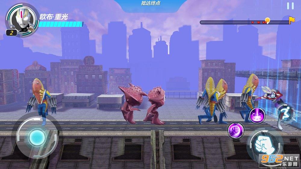 奥特曼超银河格斗游戏v1.0 中文版截图2