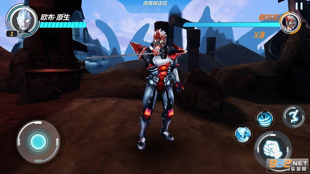 奥特曼超银河格斗游戏v1.0 中文版截图4