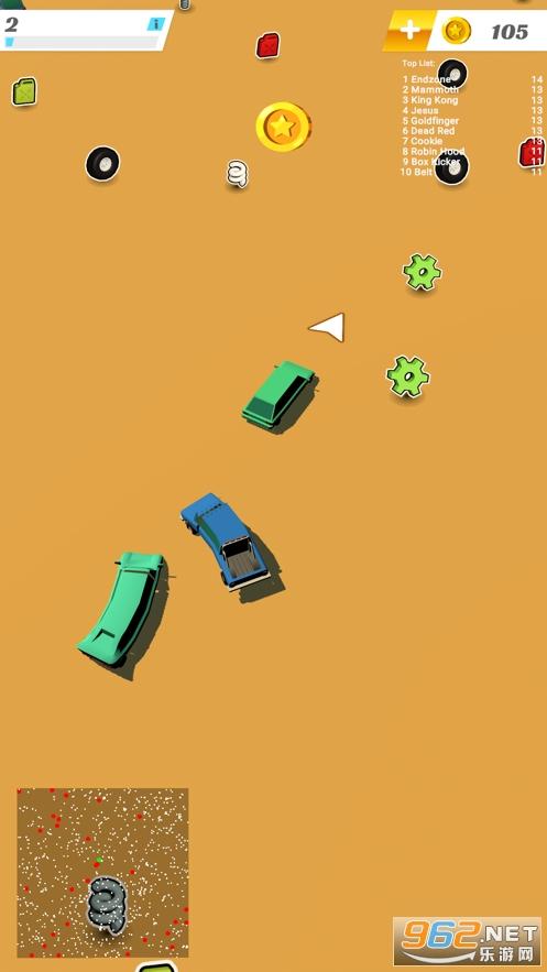 Mini Cars IO官方版v1.0 苹果版截图4