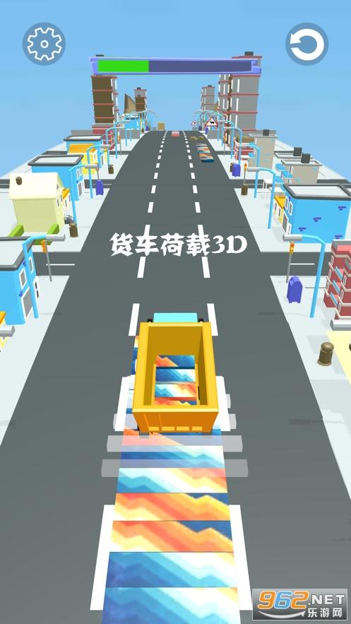 货车荷载3D游戏
