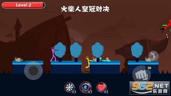 火柴人皇冠对决游戏