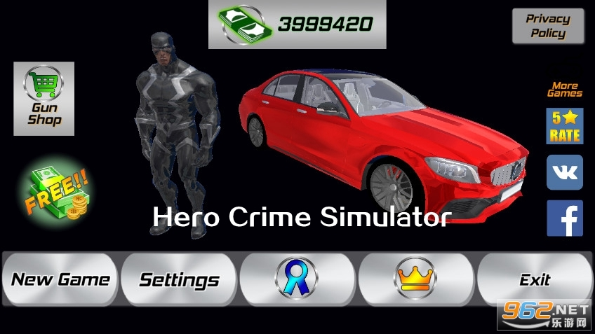 英雄犯罪模拟器破解版