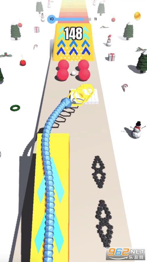 蛇蛇飞越坡道3D游戏苹果版截图0