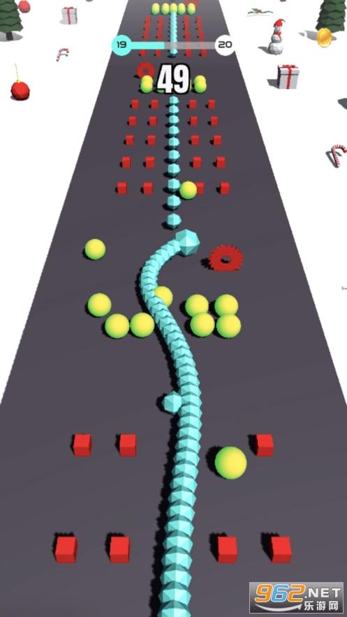 蛇蛇飞越坡道3D游戏苹果版截图1
