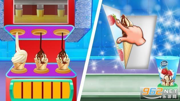 冰淇淋制作工厂游戏v1.0.3 破解版截图2