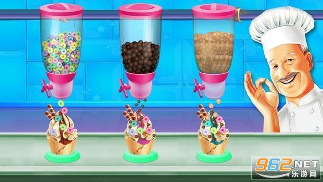 冰淇淋制作工厂游戏v1.0.3 破解版截图1